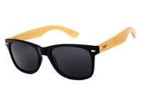 남성 우드 선글라스 천연 대나무 선글래스 안경 태양 안경 스타일 손에 선글라스 선글라스 5J0T52 나무 패션 디자이너 체결