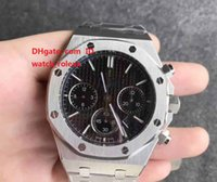 Luxury Mens Business Climbing Chronograph Watch Black Textur...
