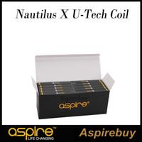 Aspire Nautilus X U-Tech Spule 1,5 Ohm Ersatzspulen für Aspire Nautilus X Tank KA1 Spulen 14-22W für Aspire U-Tech Luftstromdiagramm Origina