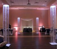 Acryl Crystal Bead Diamond Strand Hochzeit Mandap Design