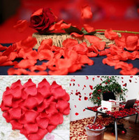 100 bag  Lot 20 Colors Silk Rose Petals Leaves Artificial Fl...