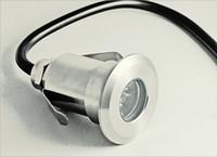 Piscine Lumière Fontaine Lampe En Acier Inoxydable Extérieur Imperméable Imperméable Lumières 1W Led Underwater Lamps AC12V DC12V 12V Livraison Gratuite
