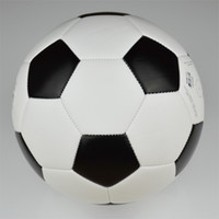 2014 Brand new black and white soccer ball & football, size5...
