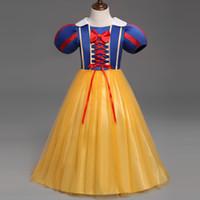 أنيقة صيف جديد بنات الأميرة فساتين أطفال بنات هالوين حزب عيد الميلاد تأثيري فساتين زي ملابس فتاة DK1033CR