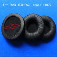 4 pack 2 pair 55mm leatherette ear pad earpads headset repla...