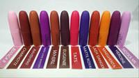 45pcs-Factory Commercio all'ingrosso Nuova Gia Valli Collezione Rossetti opachi 13 Colori Lunga durata Nudo Lip Sticker Cream Beauty Makup