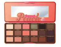 Новое прибытие Sweet Peach Eye Shadow Collection Palette 18 цветов Eyeshadow Makeup Горячий макияж Eye shadow
