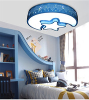L63-Modern بسيطة وجميلة نجمة القمر الصمام مصباح السقف أضواء غرفة رياض الأطفال حماية العين أضواء مصابيح السقف الاكريليك