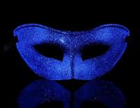Урожай Мужчины женщины шипучей маской для взрослых маскарад для вечеринок Маскарад Бал маскарад даже маска праздничная Hallowen Рождество реквизит поставок
