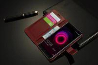 Edle für Qiku N4 Fall Luxus Schlanke Sling Wallet Flip Stand Cover Ledertasche Für Qiku 360 N4