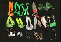 35 adet / takım Evrensel yol Asya Bait Suit ortak kullanım Tatlı Su ve Deniz Yüksek Kalite Renkli Cazibesi Biyonik Yem