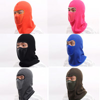 6 Colors Balaclava Hood - Windproof Mask Face Head Warmer Headwear Protector for Skiing, Cycling, Motorcycle Outdoor Sports