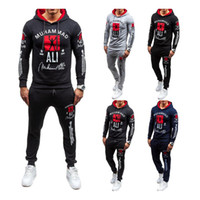 Autumn exercise fitness basketball tracksuits for men fashio...