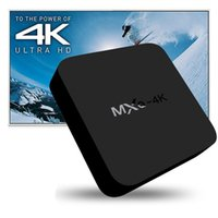 MXQ 4K Android 4.4 Kdplay 15.2 caja de la TV RK3229 1gb 8gb H.265 apoyado 60 FPS Ott Media Player TVR36-2