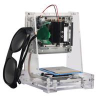 Neue 1 Satz 300 mW USB DIY Laser Graviermaschine Schneiden Drucker Engraver Logo Kennzeichnung Mit Laser Schutzbrille