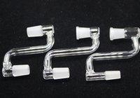Tubos adaptador desplegable Headshop666 P027 Hombre Mujer A Mujer Hombre de cristal de cristal de agua Bong adaptador desplegable