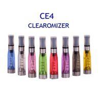 CE4 분무기 자아 clearomizer 1.6 ml 2.4OHM 기화기 탱크 전자 담배 대 CE5 MT3 Best E Cig 탱크 510 스레드 300pcs / lot