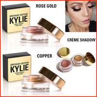 Kylie Jenner Birthday Editon Creme Shadow Copper + Rose Gold...