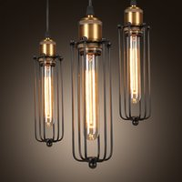 Retro RH Industrial Pendant Lamps for Warehouse Bar a Gladia...