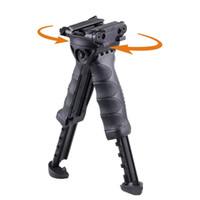 Generación 2 Tactical Rifle vertical giratoria Mano Fore Grip Bípode giratoria Empuñadura frontal táctica TPOD envío Bípode