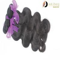 Tessuto brasiliano dei capelli dell'onda del corpo di colore naturale malese indiano peruviano vietnamita mongolo non-remy estensione dei capelli umani 2 pz 3 pz 4 pz / lotto