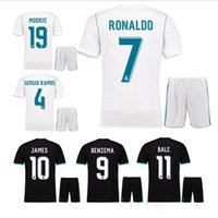 2017 Real Madrid home away jersey 1718 Ronaldo Soccer jersey...