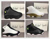 13s Classic 13 basketball shoes DMP Black cat play off DB He...