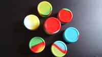 Antihaft-Wachs-Behälter-Silikonkasten Silikonbehälter dabber 55 * 28mm 22ml Wachs-Gläser des Nahrungsmittelgrades tupfen Speicherglashalter für Zerstäuberstift