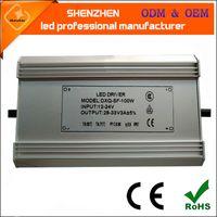 DC 12-24V güneş enerjisi IP67 10W 20W 30W 40W 50W 60W 70W 80W 100W güneş LED Sürücü Güç Kaynağı waterprrof ışık sürücü led
