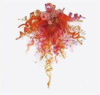 Итальянское искусство Стеклянные люстры взорванные светодиодные подвесные светильники Необычный свет для украшения спальни