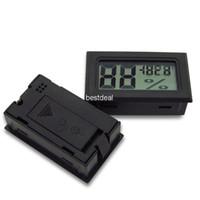 FY-11 -50-70C 10%~ 99% RH Detecting Head RH Mini LCD Digital Thermometer Temperature Humidity Meter Aquarium Gauge Industry Hygrometer