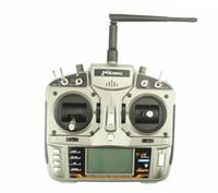 كامل المدى 2.4 جيجا هرتز MKron T-i8 رمادي DSMX 8 CH راديو ، مرسل مع AR8000 صالح هليكوبتر ، طائرة ، كوادكوبتر UAV