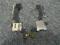 Для HTC One M9 Оригинальный слот для карты памяти SD слот держатель + кнопка громкости питания шлейф 10 шт. / Лот бесплатная доставка