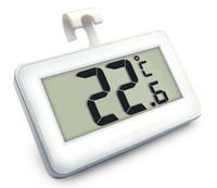 10PCS الرقمية lcd ثلاجة برادات ميزان الحرارة المرسام اختبار للثلاجة درجة الحرارة -20 درجة مئوية ~ 60 درجة مئوية مع الصقيع إنذار