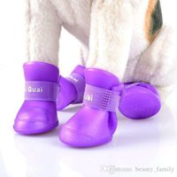 D01 Dog Shoes Pet Shoes Pet Boots Anti Slip Skid Waterproof ...