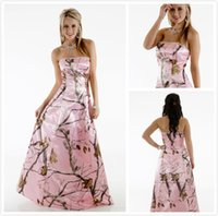 Wholesale Camo Prom Dresses Under 100 - Buy Cheap Camo Prom ...