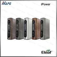 100 ٪ الأصلي Eleaf iPower TC / VW Mod 80W 5000mah البطارية للحصول على عمر بطارية طويل دائم البرامج الثابتة للترقية المضافة حديثا وظيفة إعادة الضبط