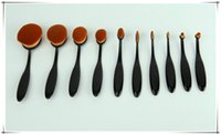 Toothbrush Makeup Brush Mul- Function Cosmetic Brush 10pcs se...