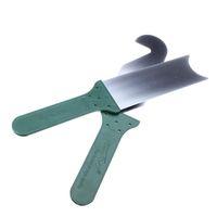 hohe Qualität billig KLOM Handwerkzeug 2 Stück Super Tür Schlitz professionelle Verschluss-Auswahl-Set Edelstahl grün