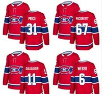 2017 18 new season Montreal Canadiens Jersey 6 Shea Weber 31...