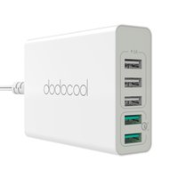 dodocool 60W 5- Port USB Desktop Charging Station Travel Wall...