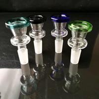 Interface de cor de pulverizador, bongos De Vidro por atacado Queimador de Óleo Tubos De Vidro Tubulações De Água Plataformas de Petróleo Fumando Frete Grátis