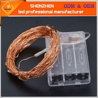 10m 5m 3m 2m LED Starry String Lights Fairy Micro LEDs Coppe...