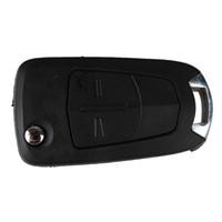 Гарантия 100% автомобилей 2buttons флип замена Keyless дистанционного брелок ключ Shell чехол для Vauxhall Corsa Opel Astra Vectra Signum Бесплатная доставка