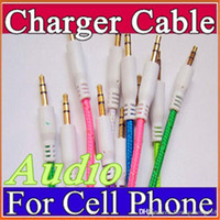 Braided Audio Auxiliary Cable 3. 5mm Wave AUX Extension Male ...