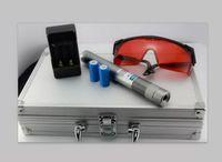 Обновите ручку лазерной указки 10 Mile 5w самая мощная Синяя лазерная указка с металлическим зарядным устройством и батареей