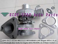 Haute Qualité TD04 49177-01504 MR355222 4917701504 49177 01504 Turbine Turbo Turbocompresseur Pour MITSUBISHI L200 Shogun 4D56 PB DOM 2.5L Eau C