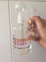 Großhandel US Dab Becher Taschen Glasbong Mini Bubbler Glas Aschfänger Inline Percolator Wasserleitung Öl