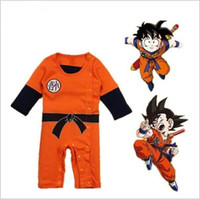 Dragon Ball Baby Rompers Newborn Baby Boy Clothes One- pieces...