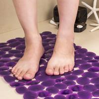 Estera gruesa de baño de guijarros para alfombras absorbentes antideslizantes Alfombras de cocina de viento Alfombras modernas Alfombras 3D Memoria para alfombras absorbentes antideslizantes
